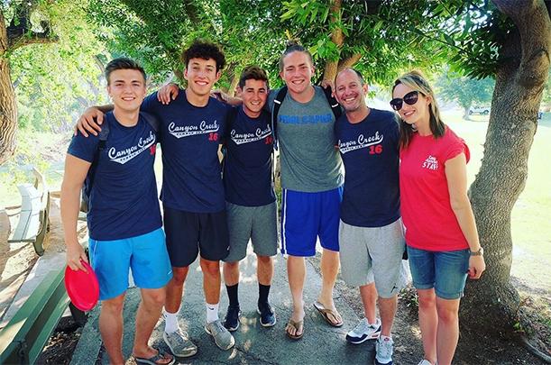 spotkanie uczestników Camp America