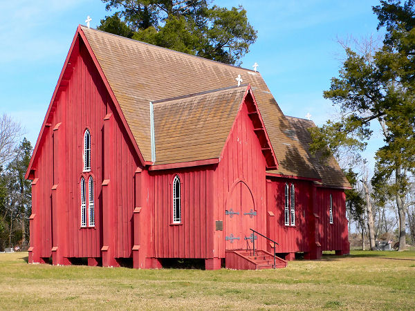 St. Andrews Church in Prairieville, Alabama