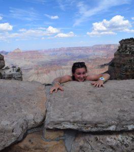 Marta w Wielkim Kanionie