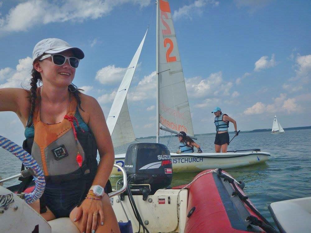 żeglarstwo na campie - Marta